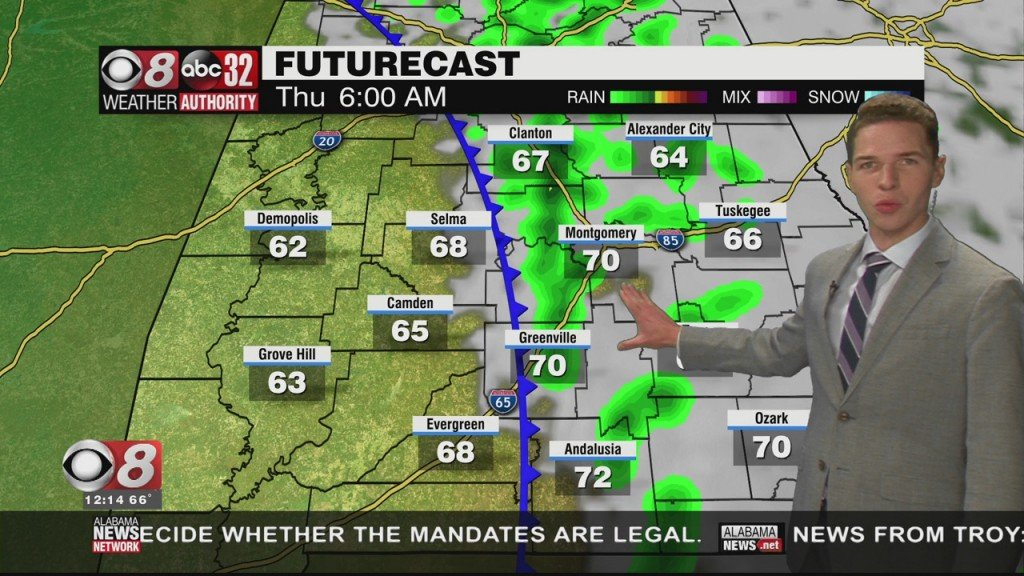 Ben's Noon Forecast Tuesday 10 26 21