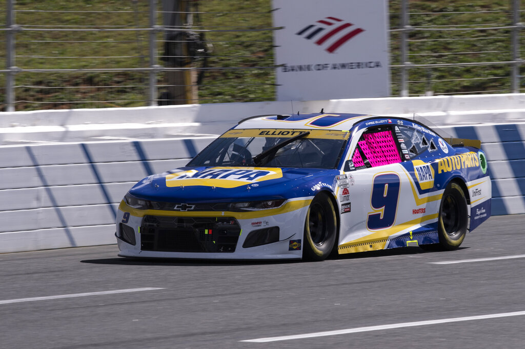 Nascar Charlotte Cup Auto Racing