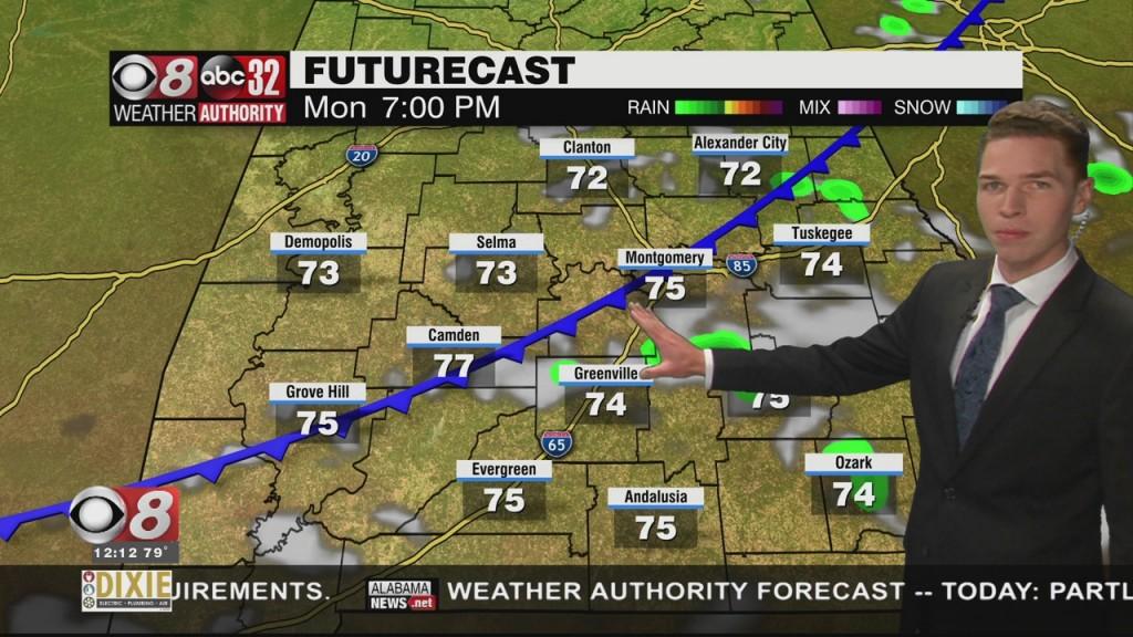 Ben's Noon Forecast Monday 10 25 21