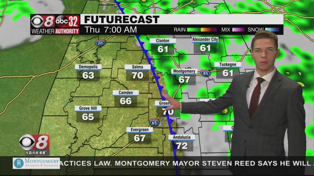 Ben's Noon Forecast Wednesday 10 27 21
