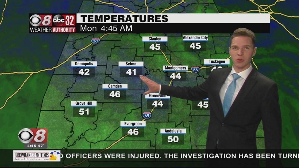 Ben's 430am Forecast Monday 10 18 21