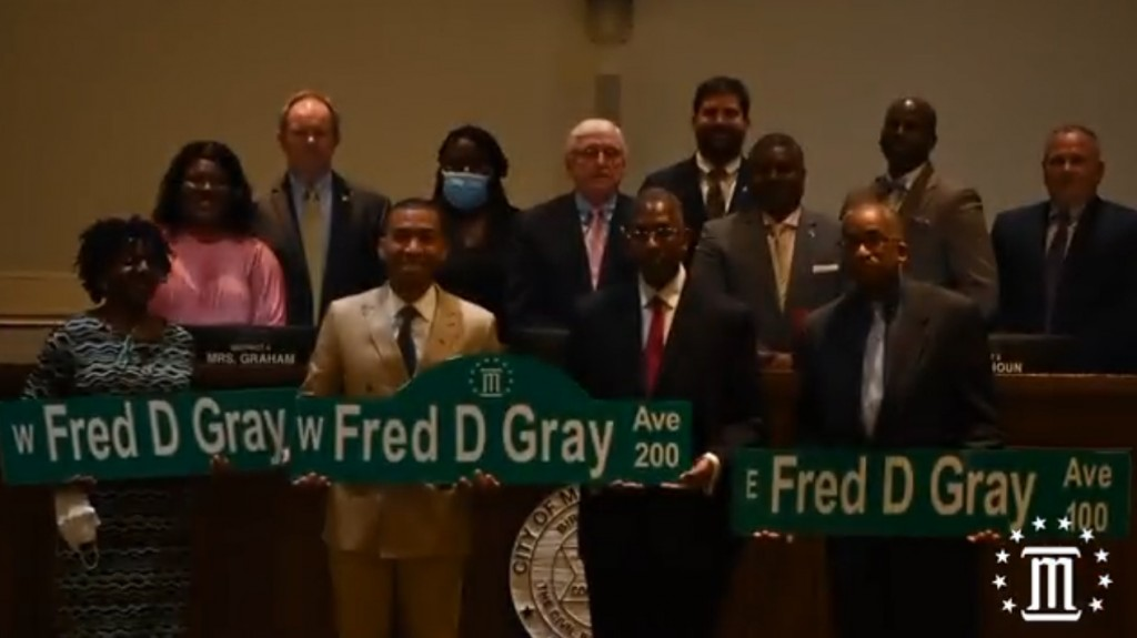 Fred D Gray Avenue