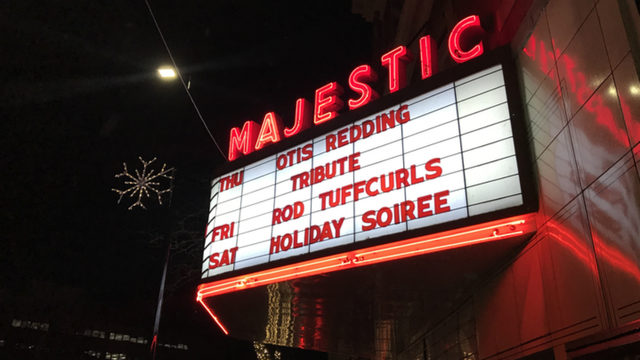 marquee at the Majestic Theater