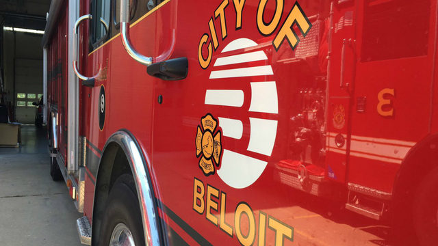 side of beloit fire truck