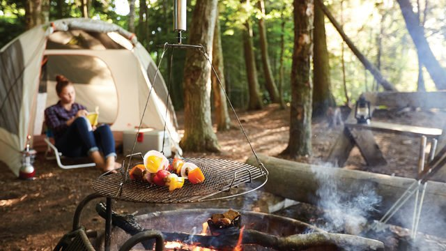 Embrace the Wisconsin outdoors with an ideal camping experience