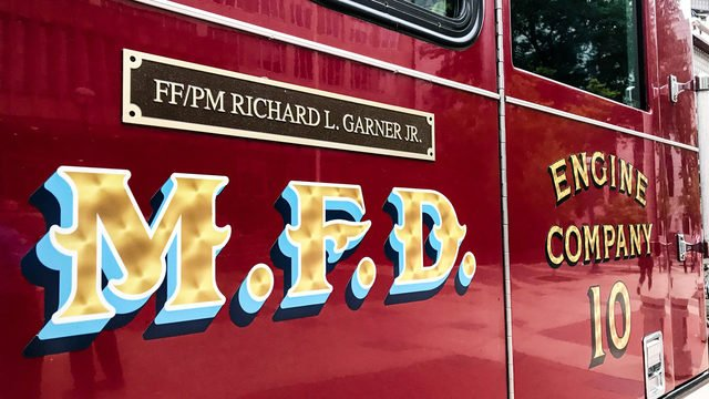 City of Madison names fire engine in memory of fallen firefighter, paramedic