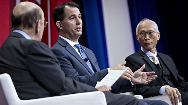Foxconn executive steps away from Wisconsin project