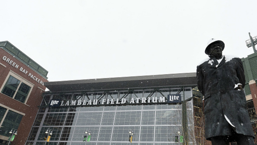 A generic photo of Lambeau Field