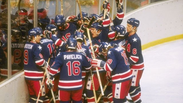 The 1980 Miracle on Ice team
