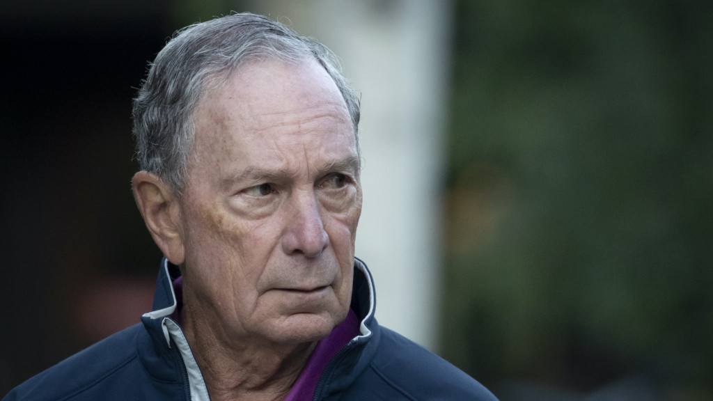 Democrat: Former New York City Mayor Michael Bloomberg filed to enter the presidential race on Nov. 21, 2019.