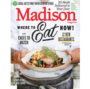 Madison Magazine November 2019 cover