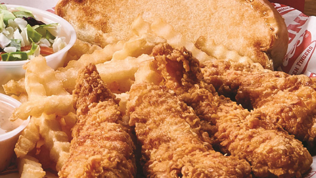 2. Raising Cane's 78%, coming in second overall among quick-service restaurants but just second among places specializing in chicken.