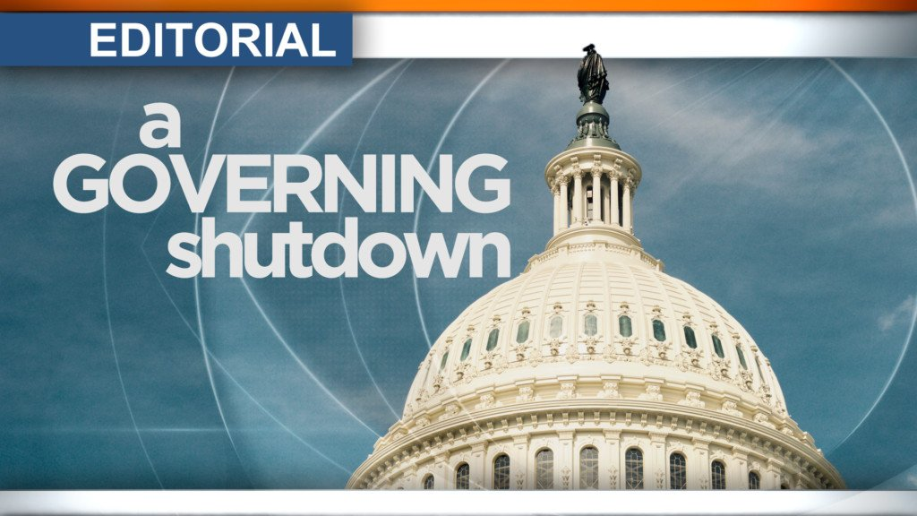 Editorial: A governing shutdown