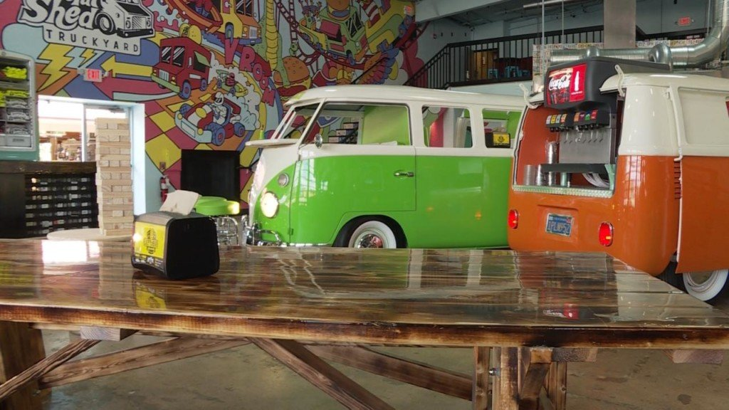 'The ambiance here is electric': Grateful Shed Truckyard brings new experience to Wisconsin Dells