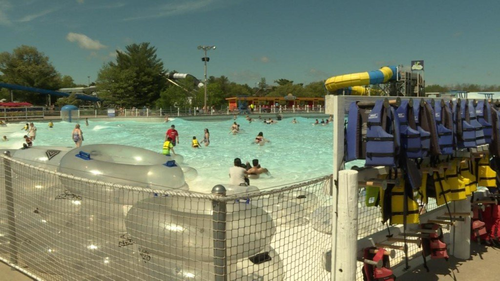 As water parks open for season, climate predictions show potentially cool, rainy summer