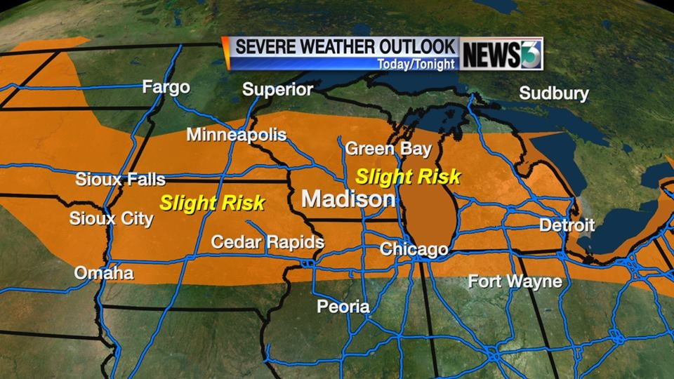 Cannalte: More storms expected Tuesday night