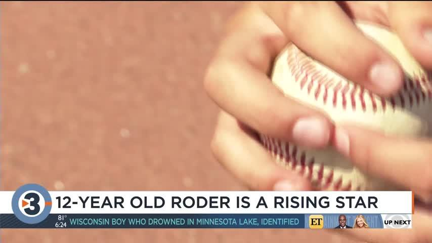12-year-old McFarland baseball player representing Wisconsin at MLB All-Star Game
