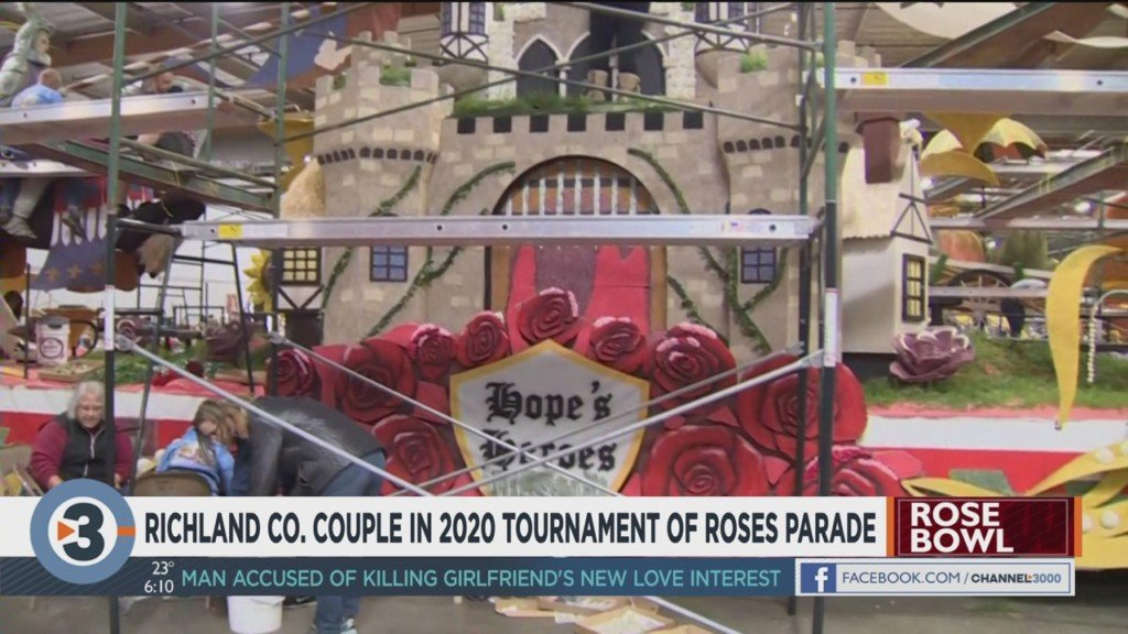 Richland County couple honored in 2020 Tournament of Roses Parade