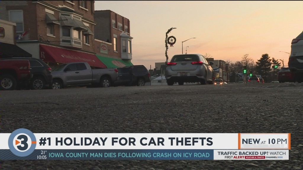 #1 holiday for car thefts