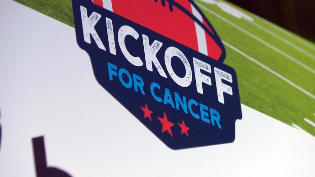 Kickoff for Cancer raises funds to help move cancer trials toward treatment