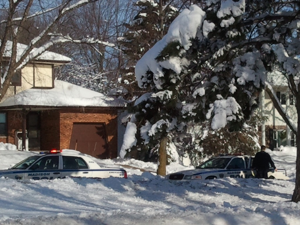 Madison officer's hand injured responding to domestic fight