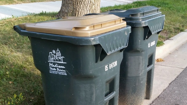Monday garbage, recycling pickup delayed due to holiday