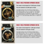 Children's product safety groups issue warning for fidget spinners