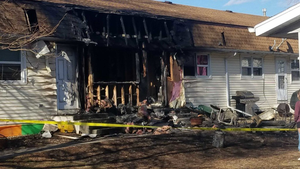 Cambridge fire started by child playing with lighter displaces residents, officials say