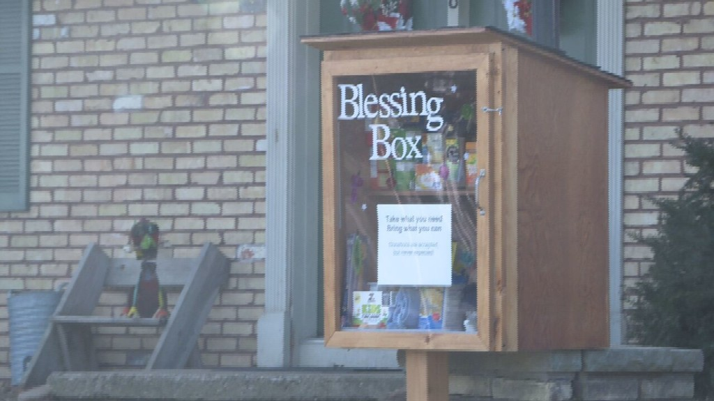 'Take what you need, bring what you can': Stoughton neighbors give back with Blessing Box