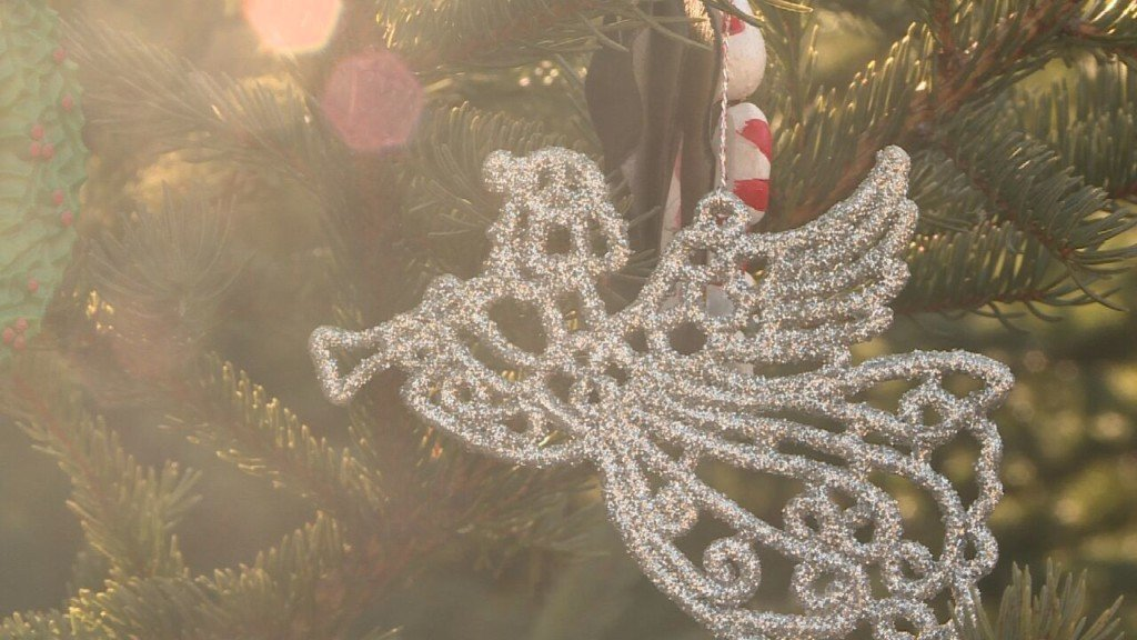 Families decorate trees in Garden of Angels for loved ones this holiday