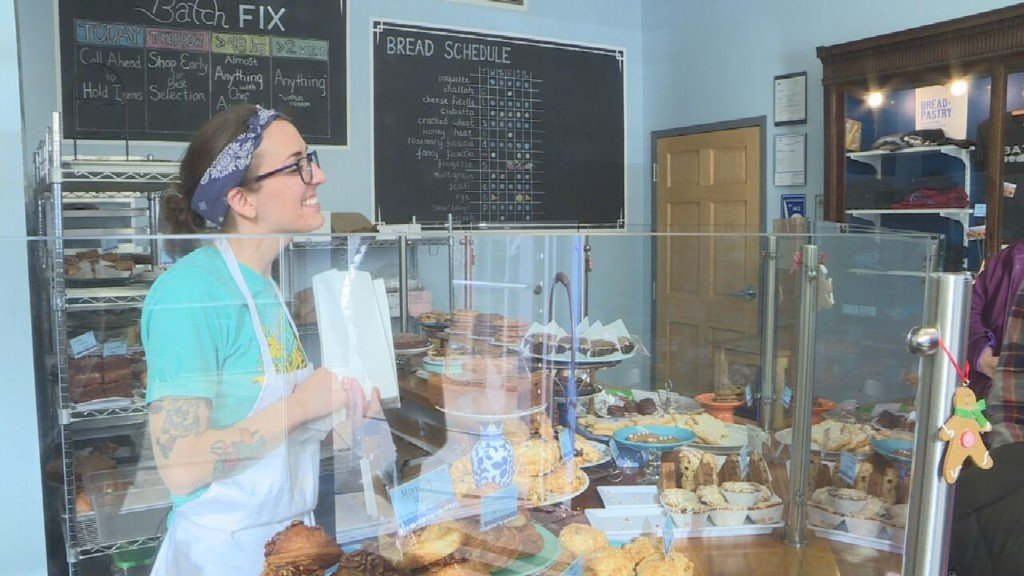 Local bakery works to fill orders leading up to holiday