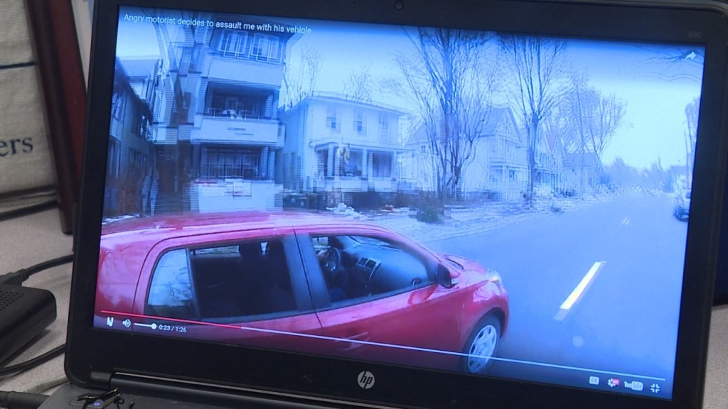 Madison police have video of road rage incident involving a car and bike