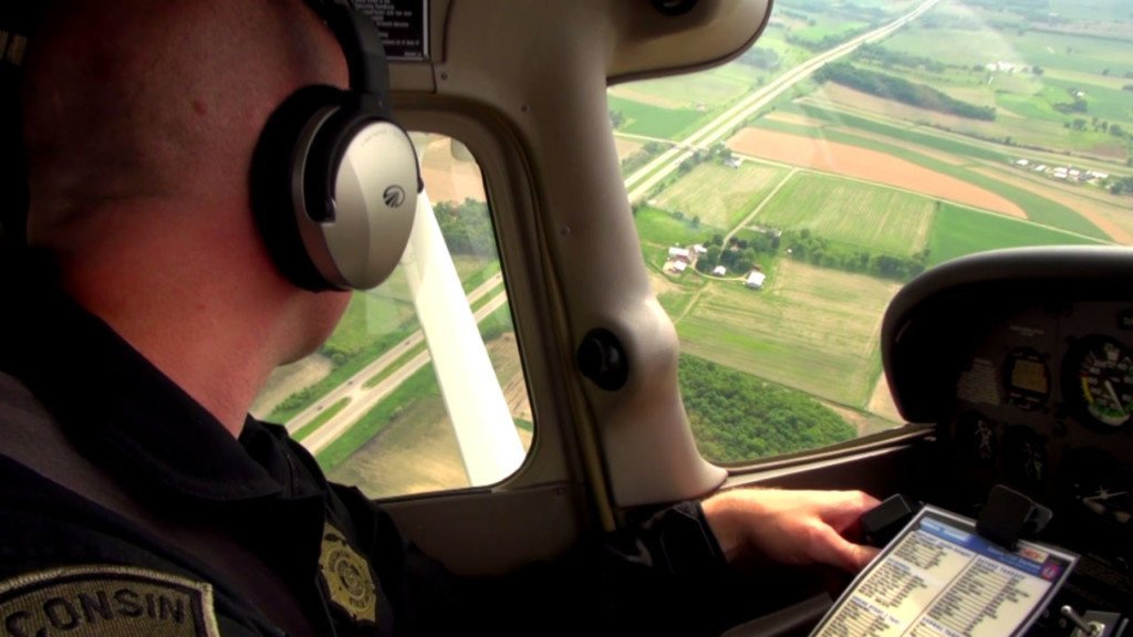 Wisconsin State Patrol plans aerial enforcement in Dane County