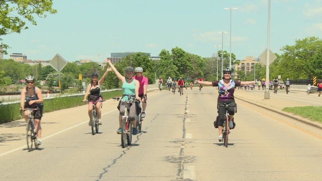 Ride the Drive gets Madisonians on their bikes