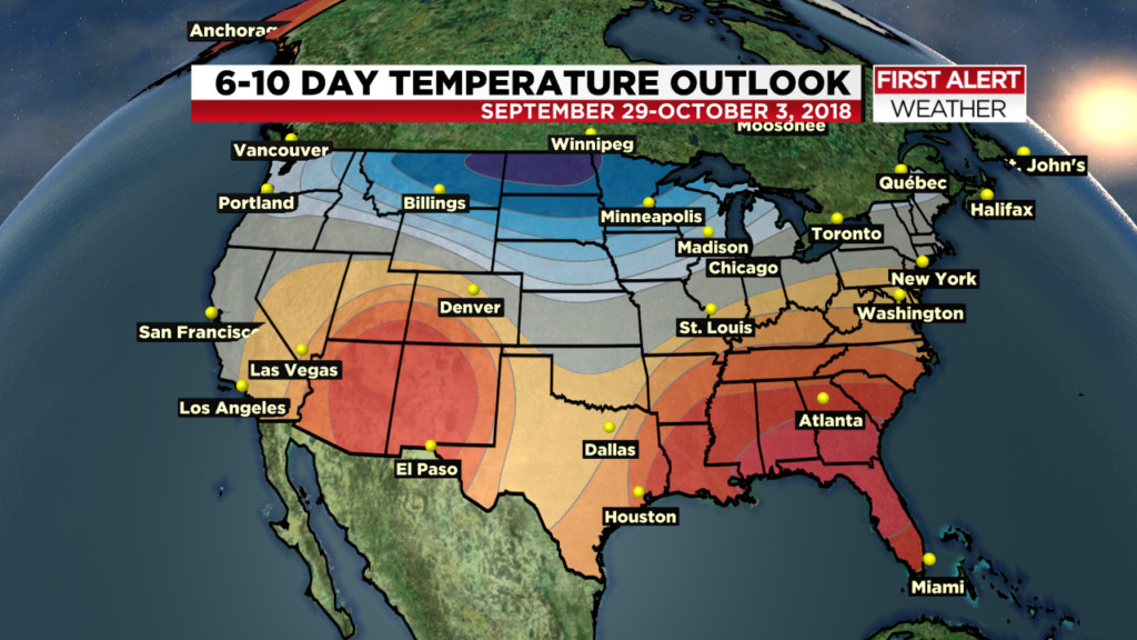 Looking Ahead: The latest thoughts on weather pattern trends through Fall