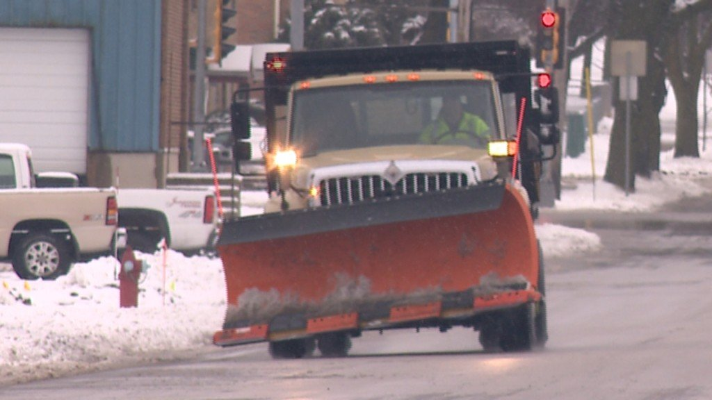 Man suffers leg injuries after being hit by snowplow