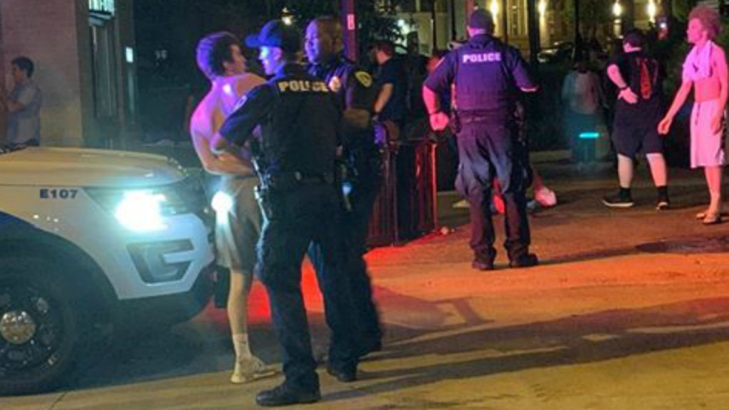 Several fights break out on State Street after bar time Saturday