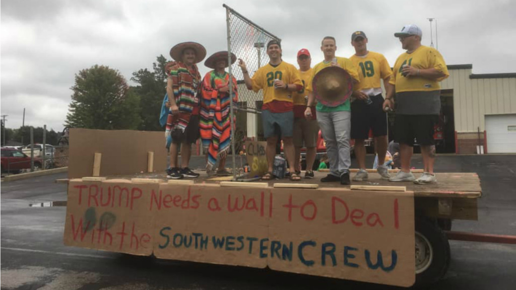 Pecatonica Area School District responds to controversial float in homecoming parade