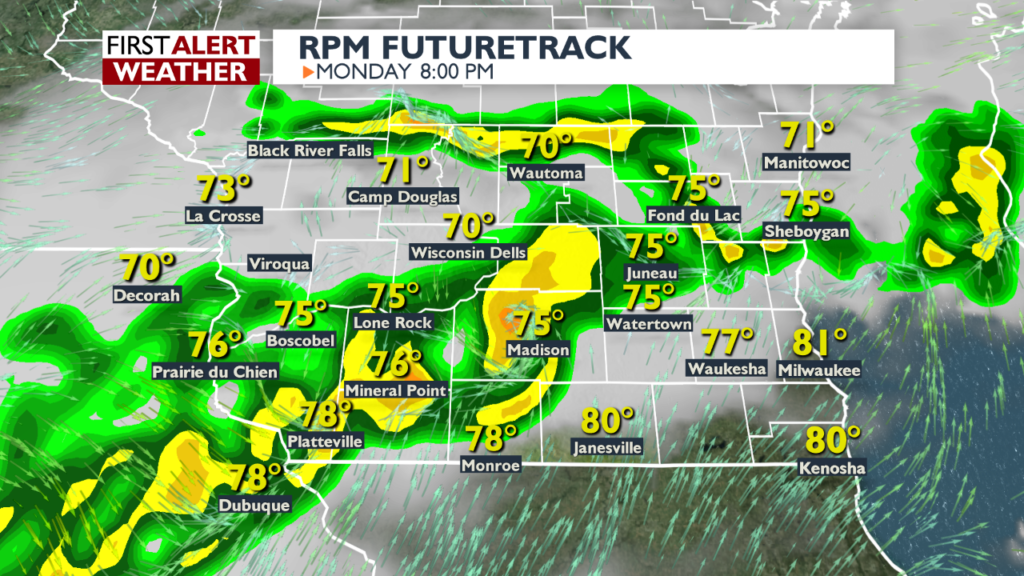 Alert Day: Severe storms possible later Monday