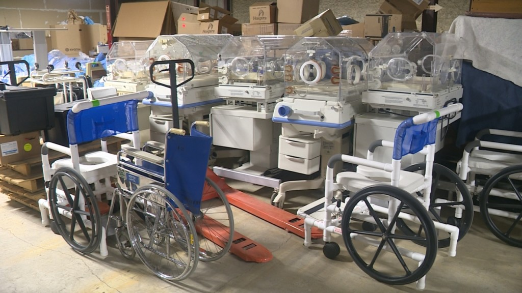 Hospitals in Wisconsin donate used equipment to help Tanzanians