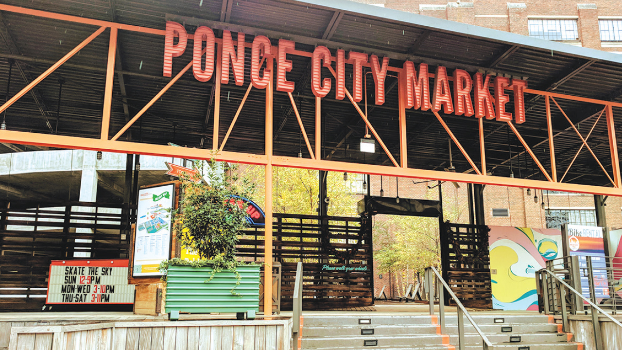 Ponce City Market's front facade