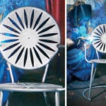 PHOTOS: The making of a terrace chair