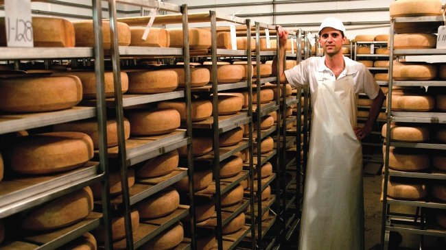 Meet Andy Hatch of Uplands Cheese