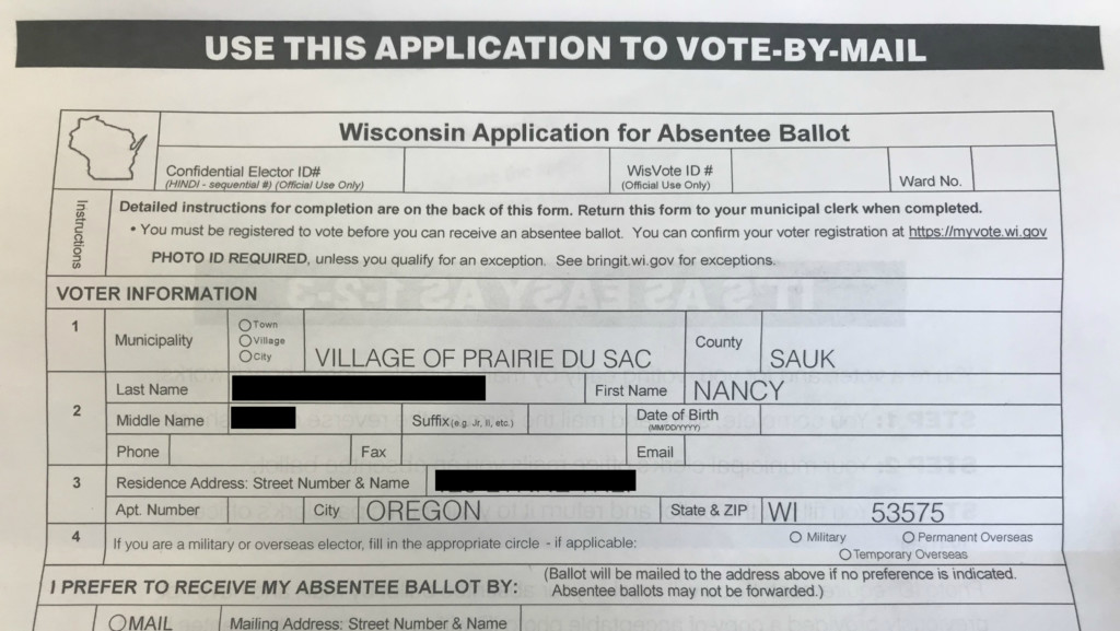 Officials warn voters about absentee ballot mailers after concern over incorrect information