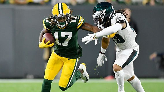 Davante Adams ruled out for Sunday