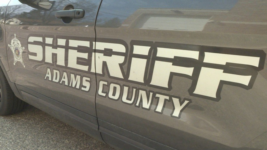 A generic photo of an Adams County Sheriff's Office vehicle