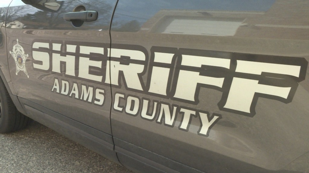 adams county sheriff squad car