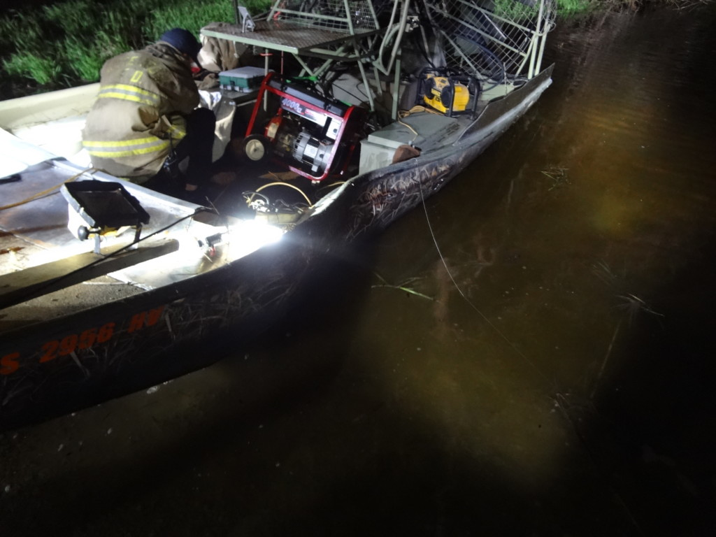 Three people ejected from air boat in Dodge County