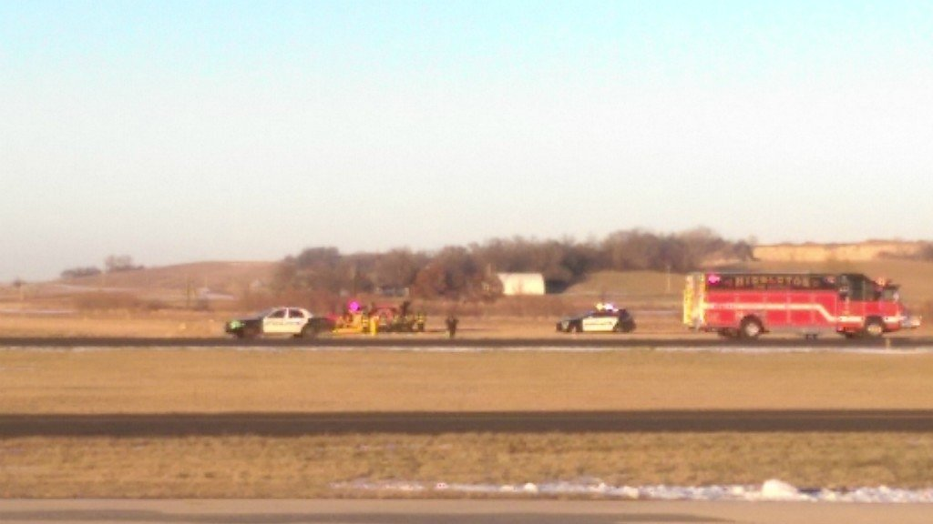 Small aircraft flips in Middleton injuring 2