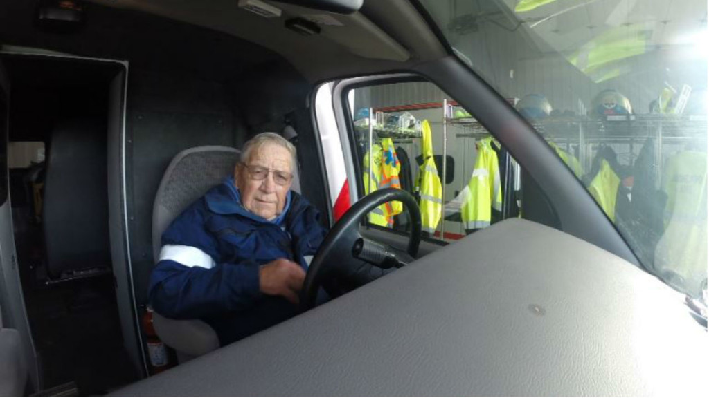 State's longest-serving first responder hails from Highland